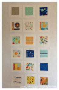 Blocks with Borders - Window Pane Quilt