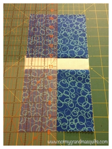 Cutting the Border - Window Pane Quilt