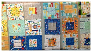 Layout Examples - Window Pane Quilt