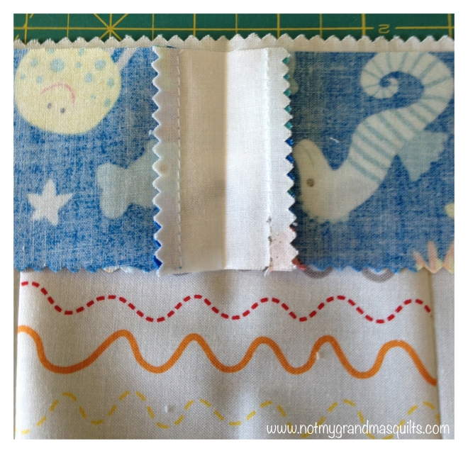 Matching Border to Center Block - Window Pane Quilt