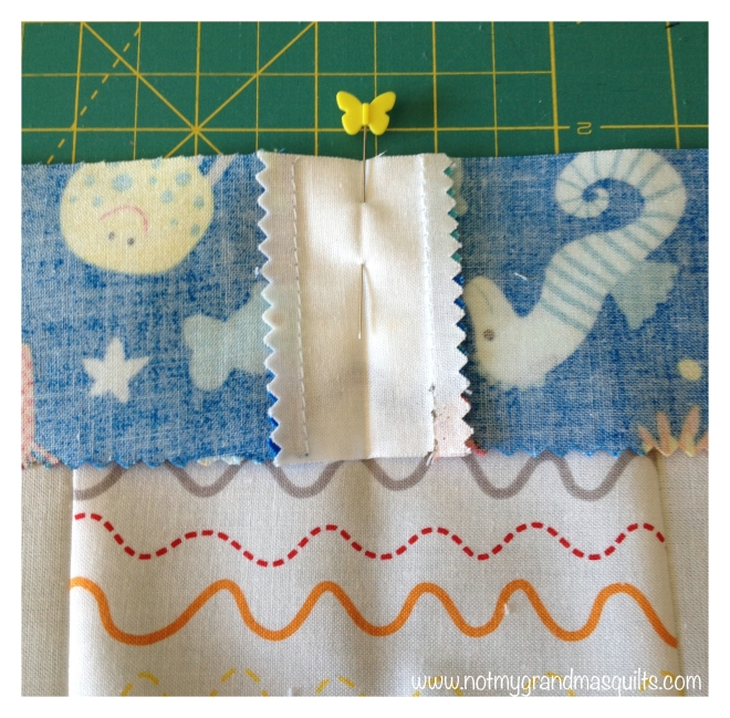 Pin Border - Window Pane Quilt