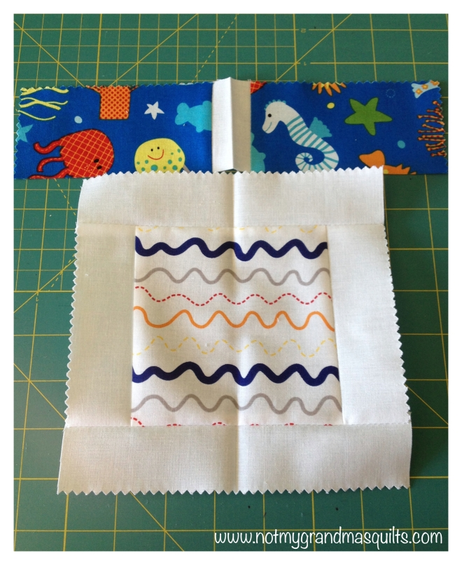 Press Seams Match - Window Pane Quilt