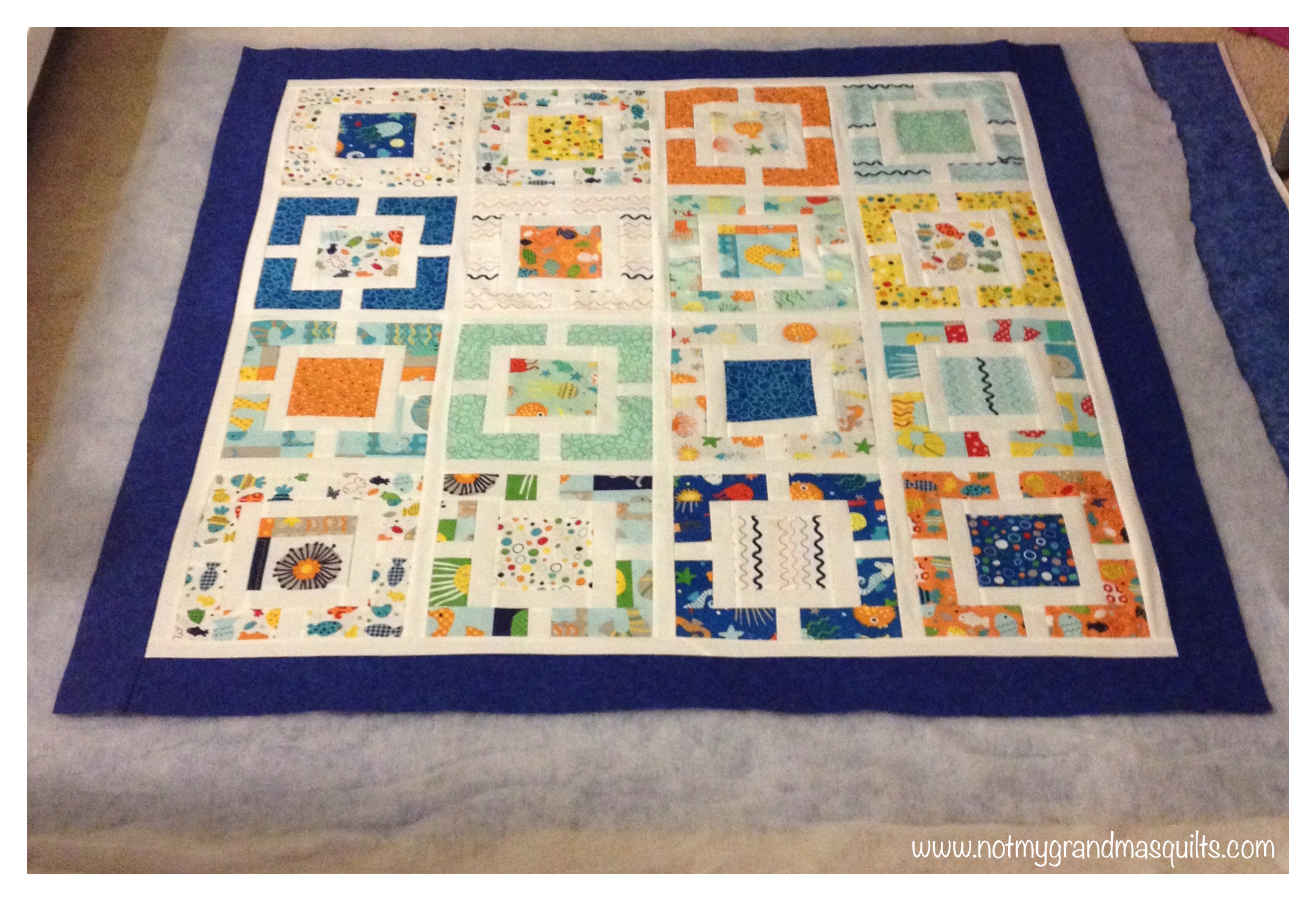 No stress window pane quilt the clever quilt studio for Window pane quilt design