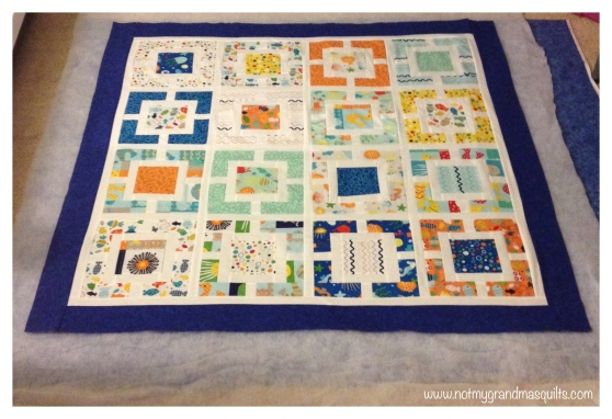 Window Pane Quilt Final Layout