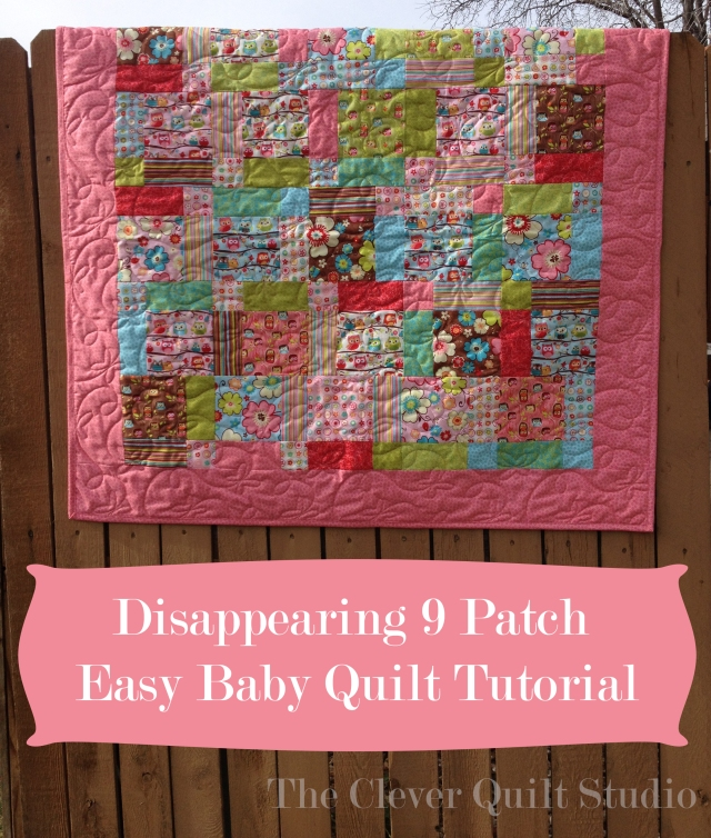 Disappearin 9-Patch Cover