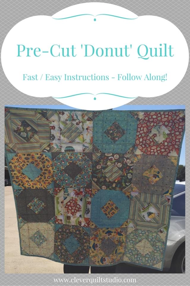 PreCut Donut Quilt