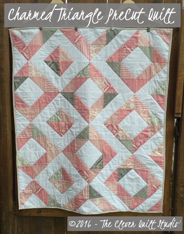 Charmed Triangle - Cover - CleverQuiltStudio.com